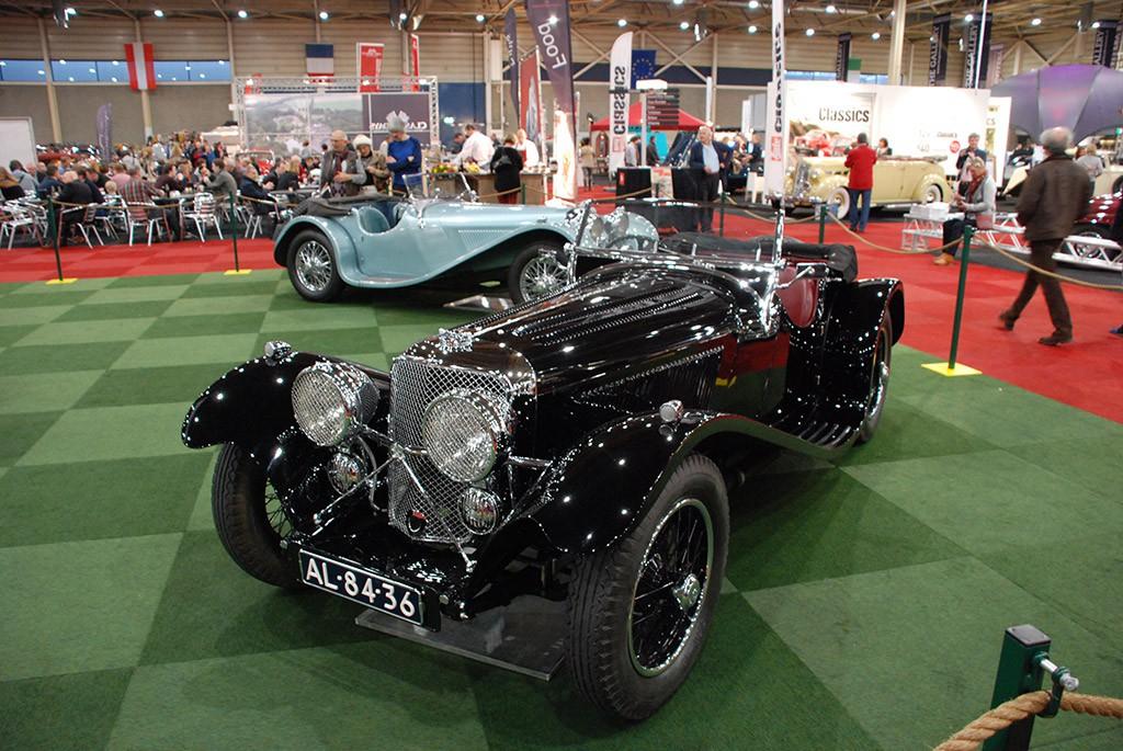 jaguar SS 90 1935 voorzijde