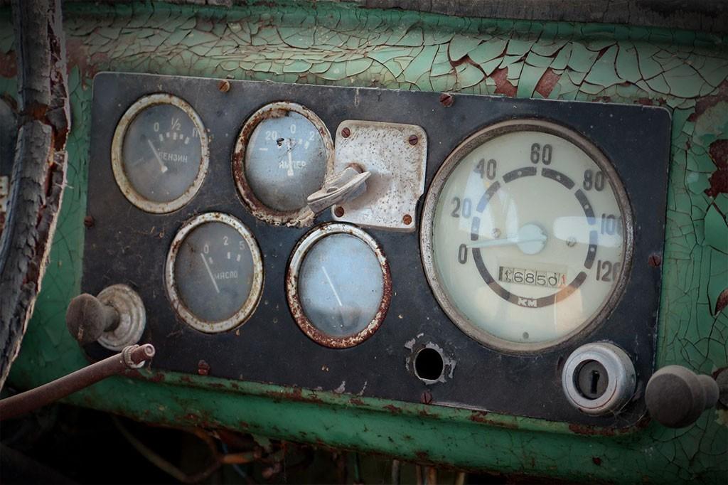 klokken russische oldtimer