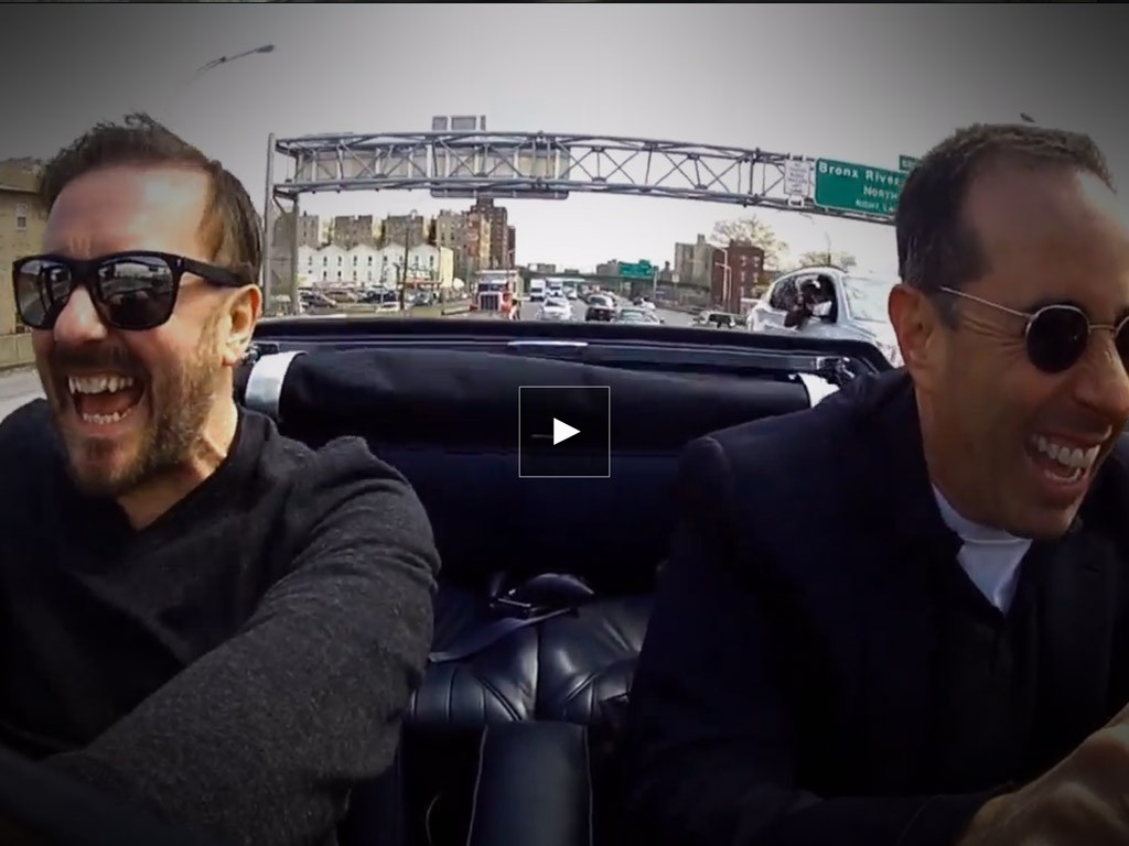 comedians in cars getting coffee ricky gervais