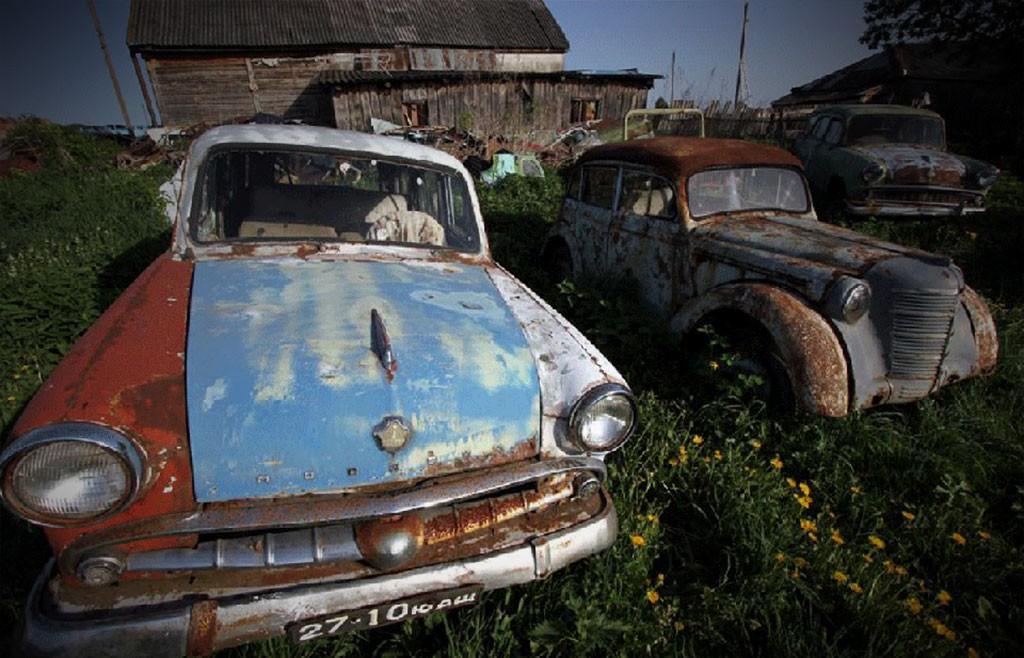 russisch autokerkhof