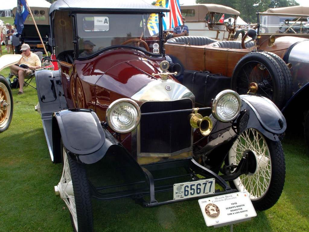 1915 Scripps Booth Model C