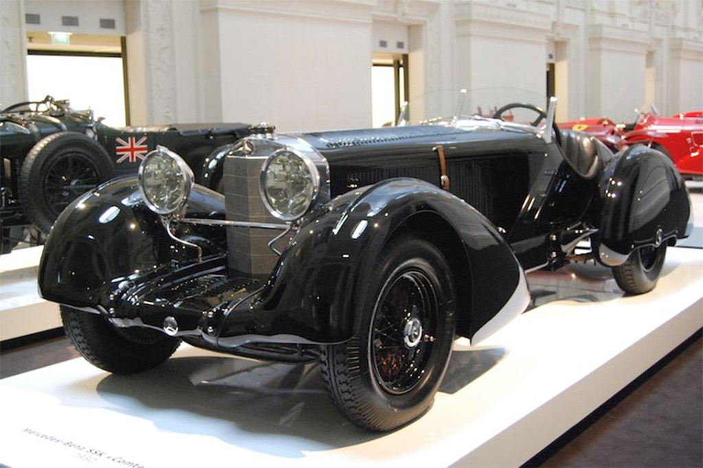 1930 Mercedes SSK Count Trossi