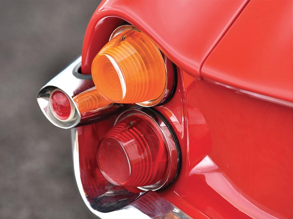 Alfa romeo giulietta SS 1961 achterlicht