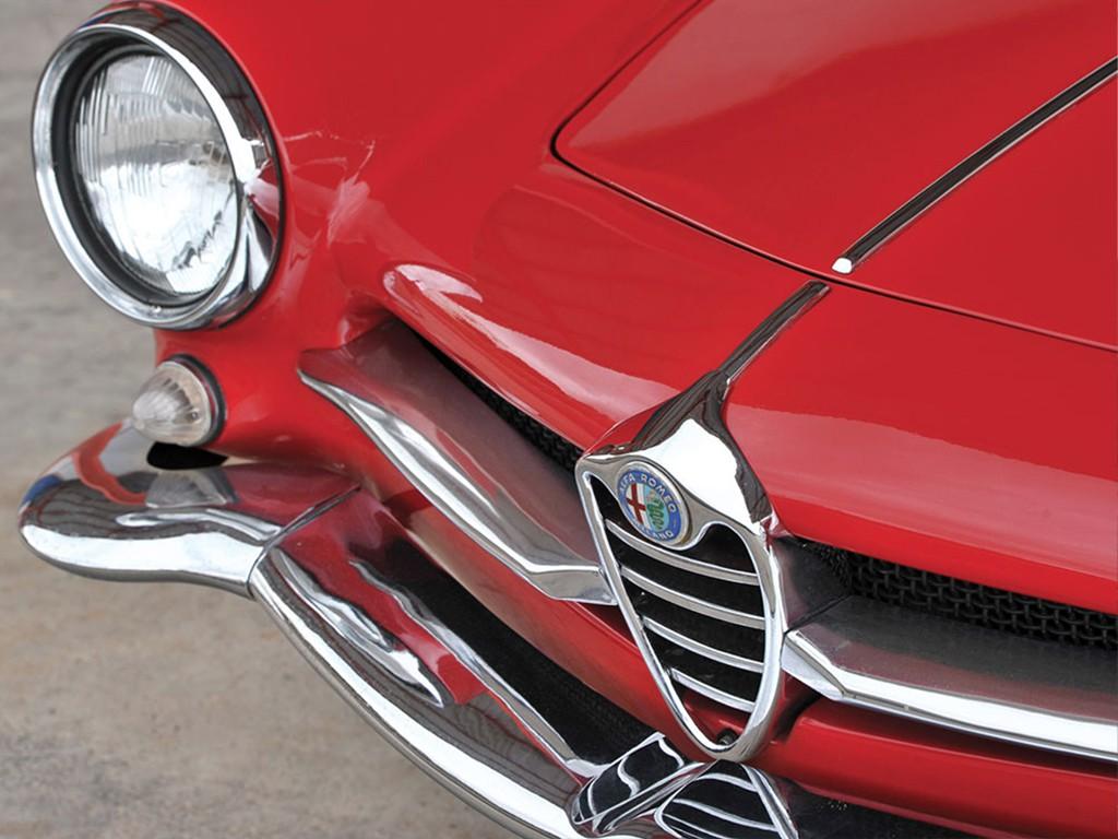 Alfa romeo giulietta SS 1961 voorkant