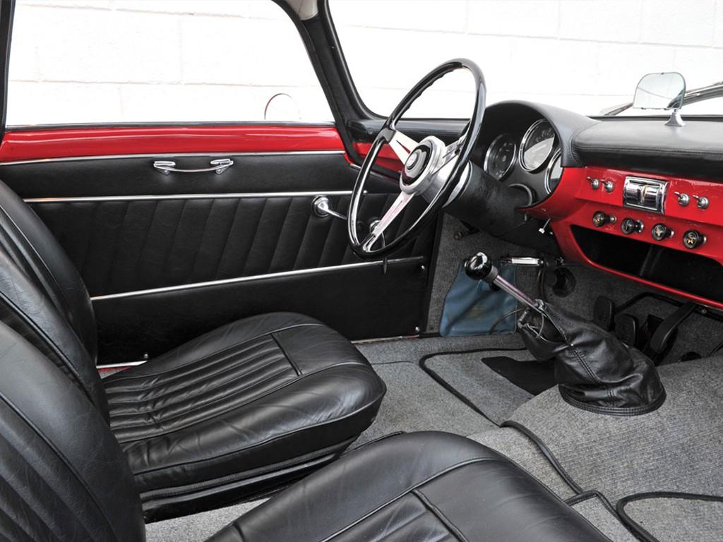 Alfa romeo giulietta SS 1961 interieur