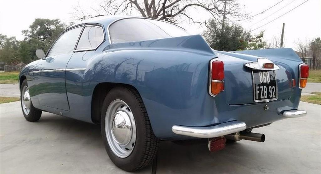 Lancia Appia Zagato GTZ 1957 achterzijde