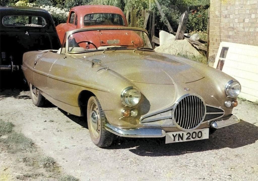lea francis lynx 1960