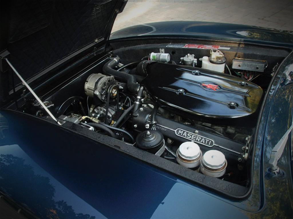maserati ghibli spyder 1970  motor