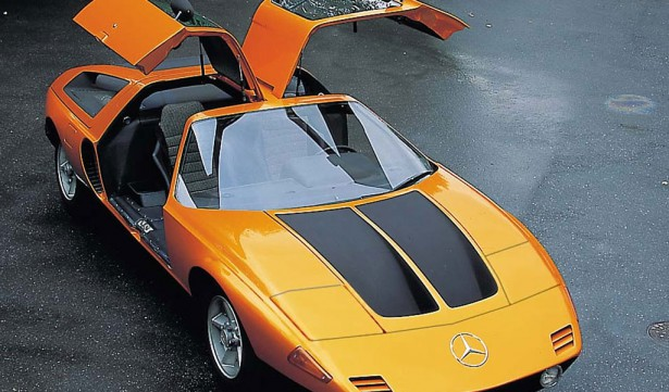 concept car mercedes benz c111
