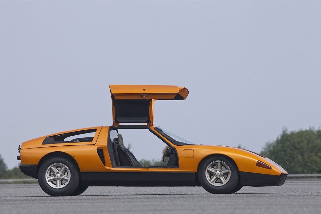mercedes-benz c111 IID 1976