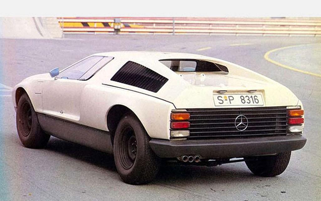mercedes-benz c111 I 1969