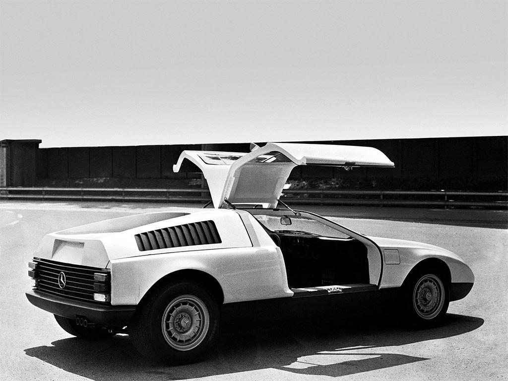 mercedes-benz c111 I 1969 achterzijde