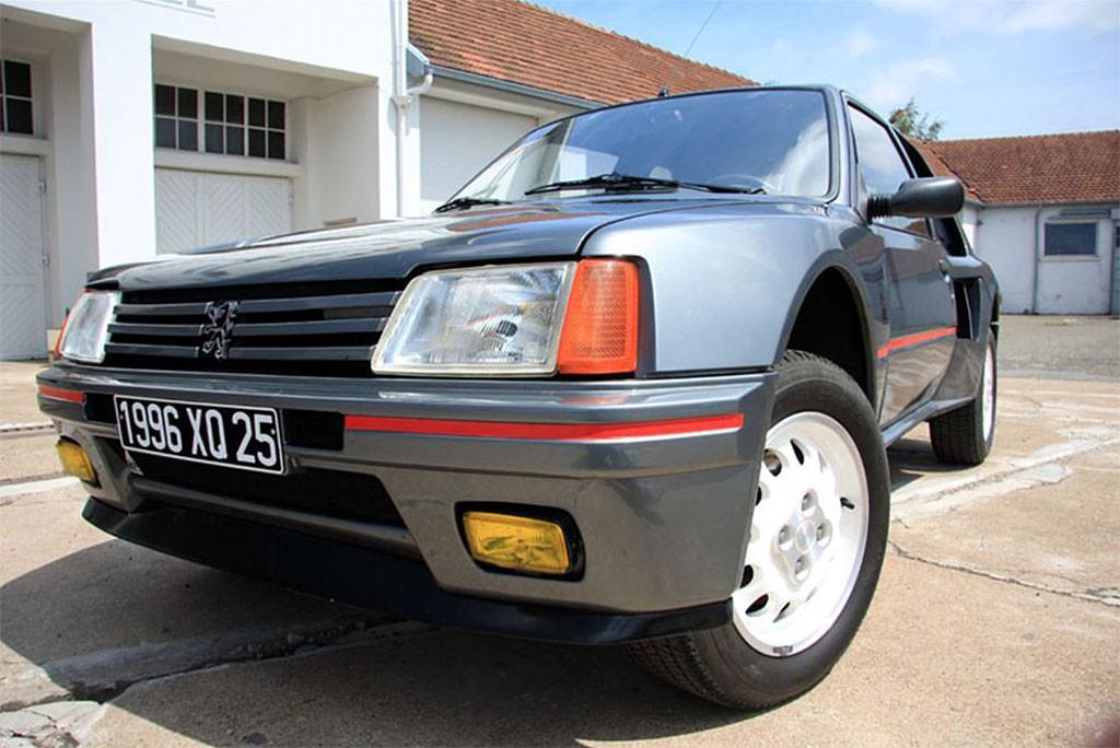 Peugeot 205 t16 te koop
