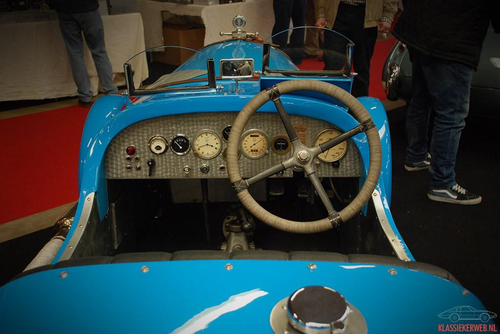 dashboard Salmson S4C Sports Special uit 1938