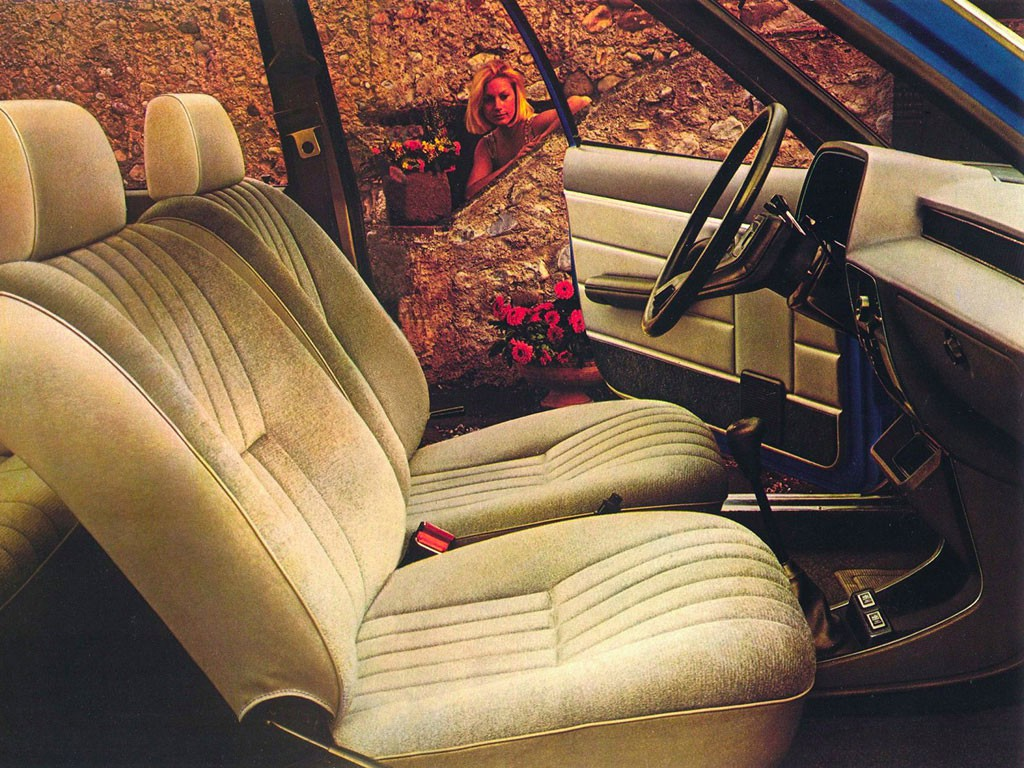 Simca 1307 interieur 1975