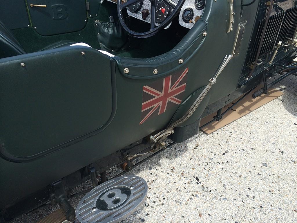 bentley 4,5 litre 1930 detail