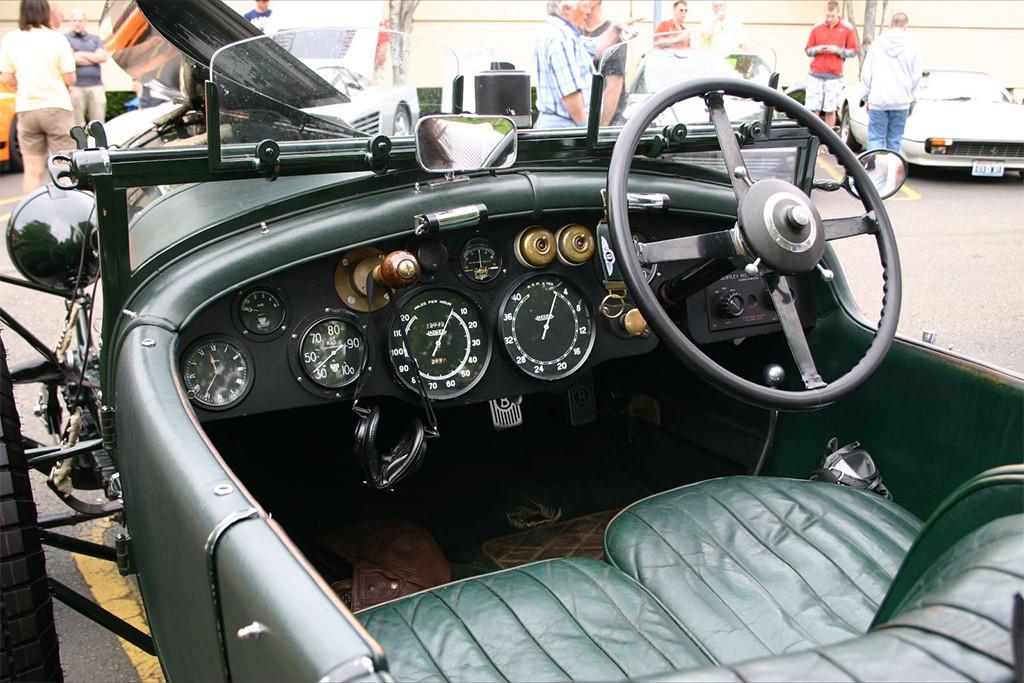 bentley 4,5 litre 1930 interieur