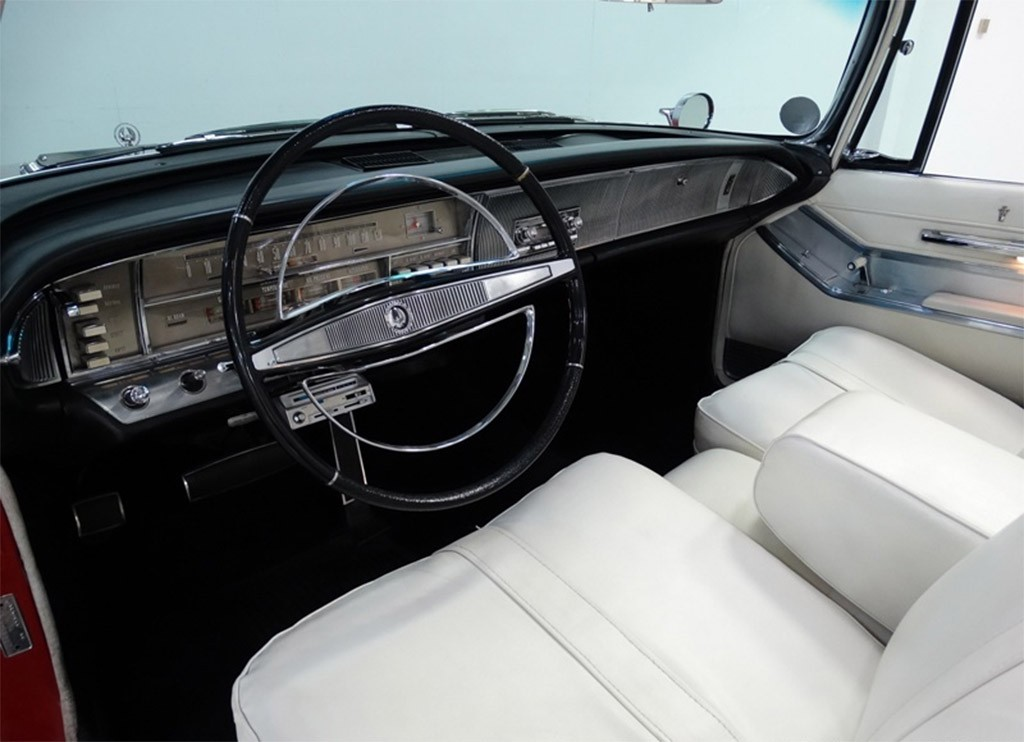 chrysler imperial mad men 1964 interieur
