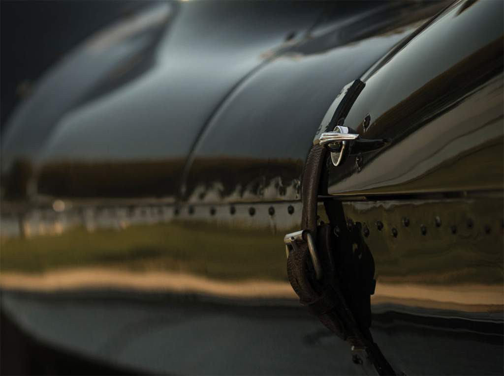 jaguar d-type detail