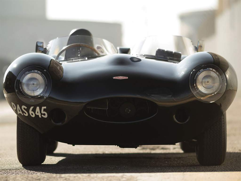 jaguar d-type front