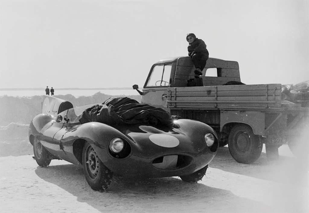 jaguar D-type ijsrace 1963