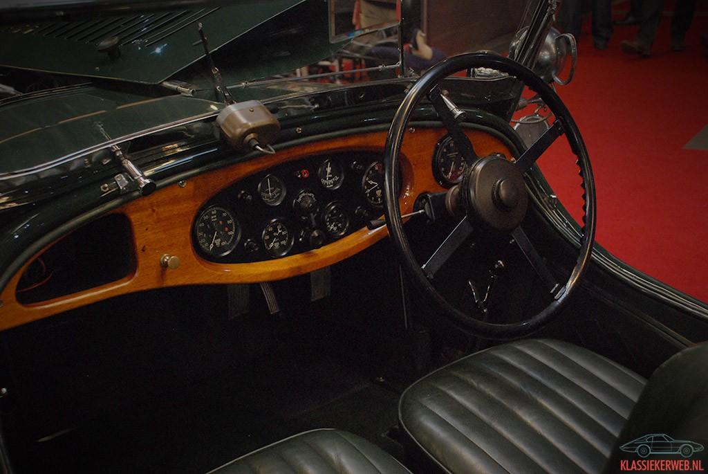 lagonda 2 litre open tourer 1930 dashboard