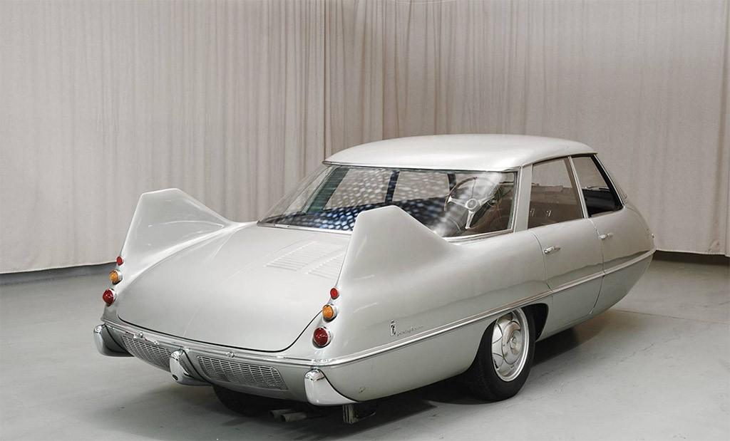 pininfarina model X achterzijde