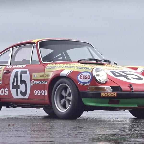 porsche 911S rally front