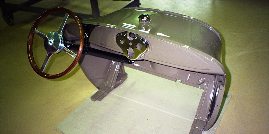 ford A cosworth interieur