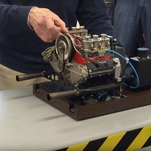 kleinste werkende porsche motor