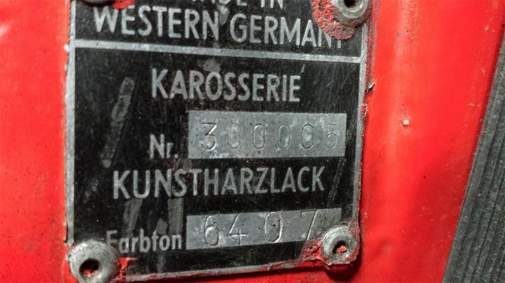 porsche 901 chassisnummer 300.005