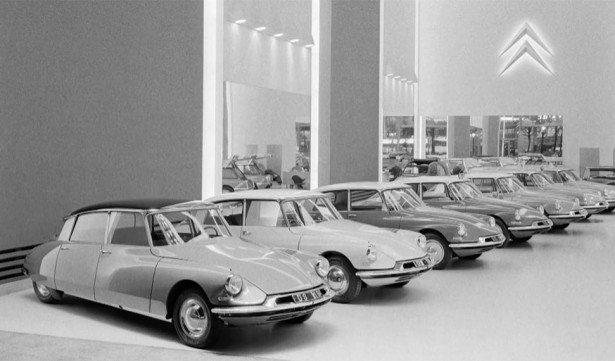 citroen DS introductie