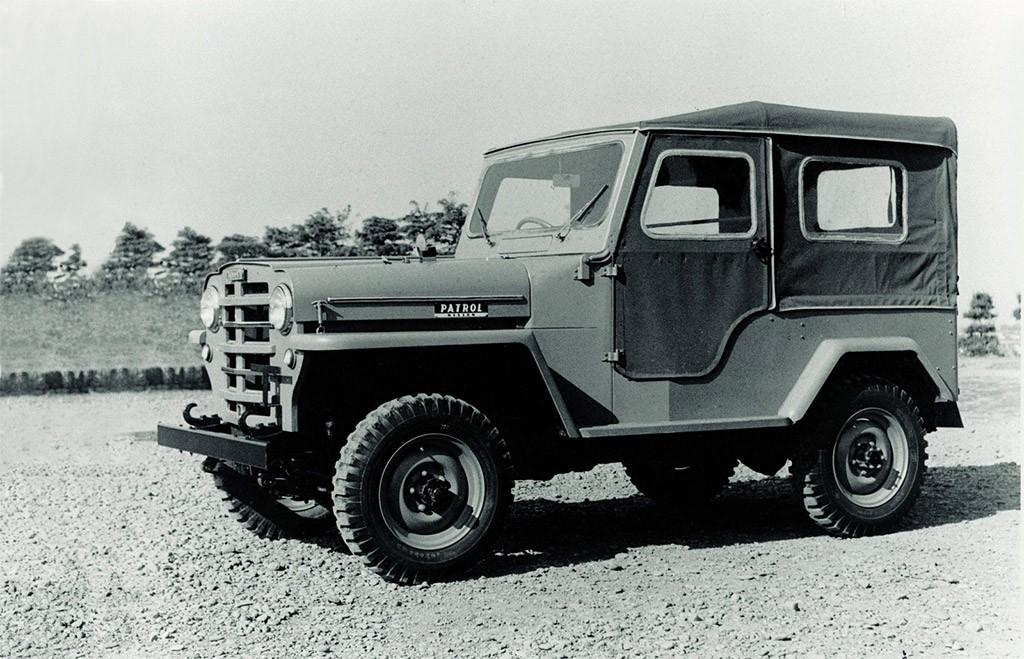 nissan patrol 4w65 1958