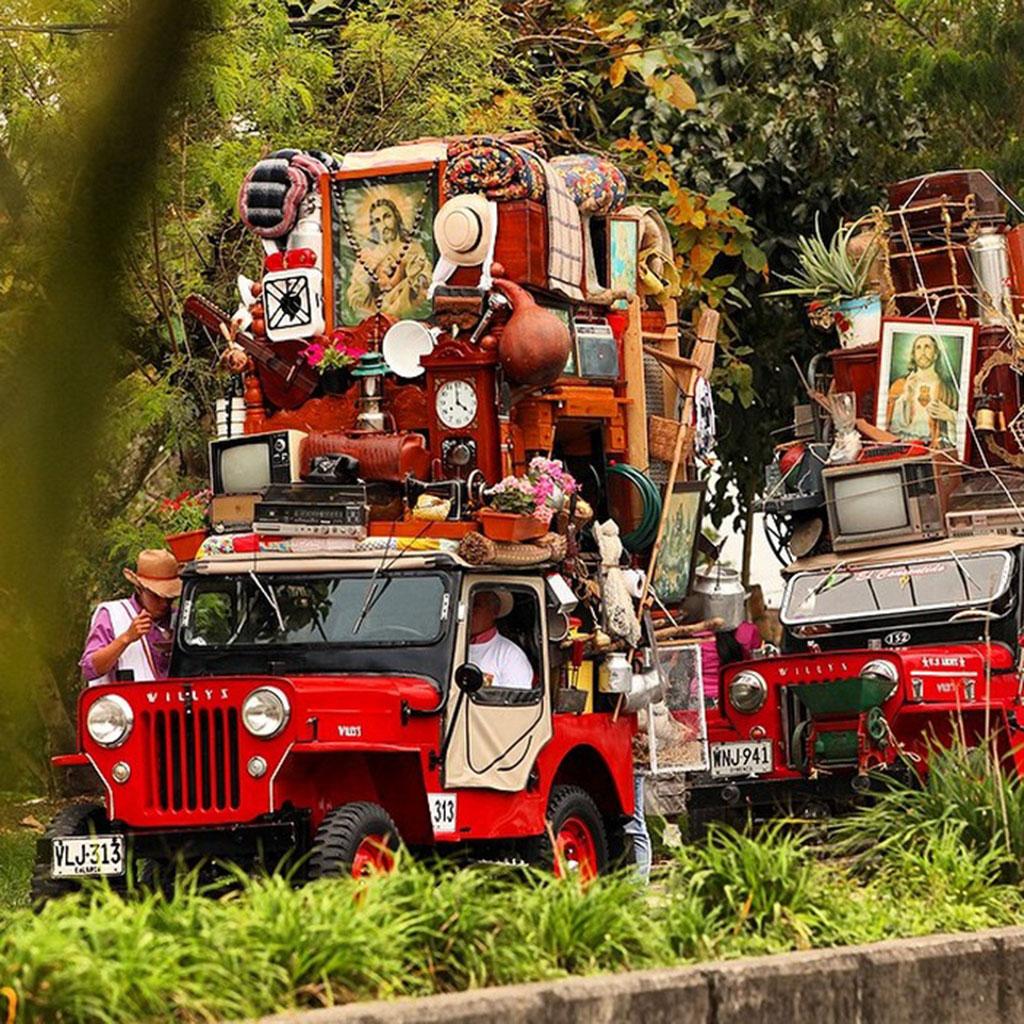 yipao parade colombia