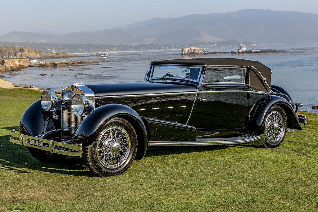 The 'Best of Show 2010' The Pebble Beach Concours D'Elegance Was a 1933 Delage