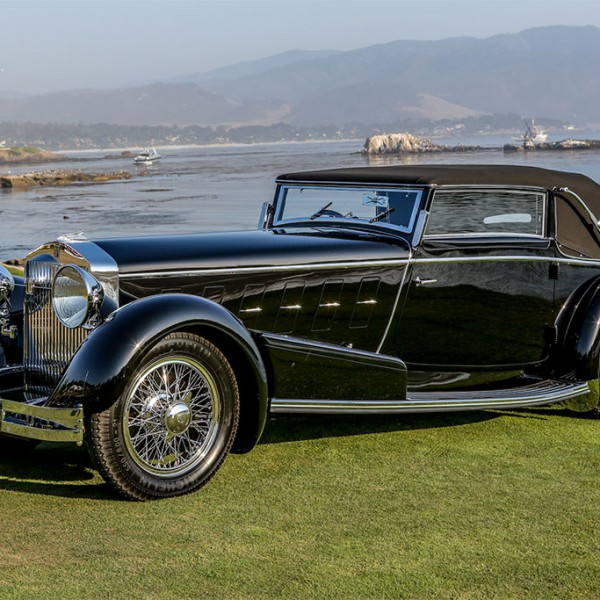 1924 Isotta-Fraschini-Tipo 8A pebble beach winnaar