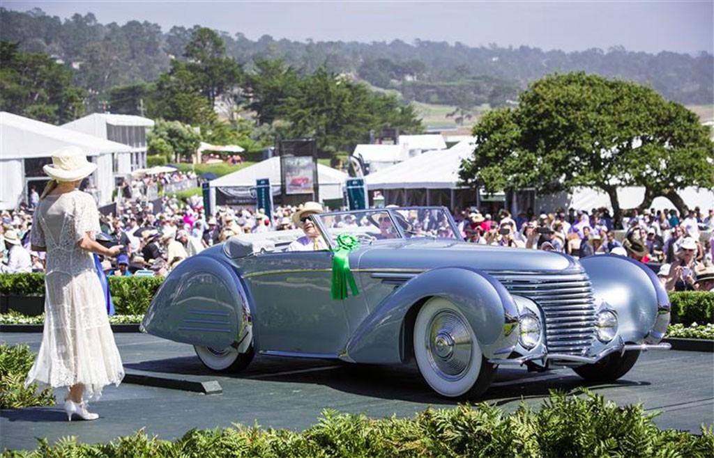 Delahaye 145 Franay Cabriolet uit 1937