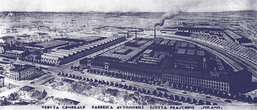 isotta-fraschini fabriek