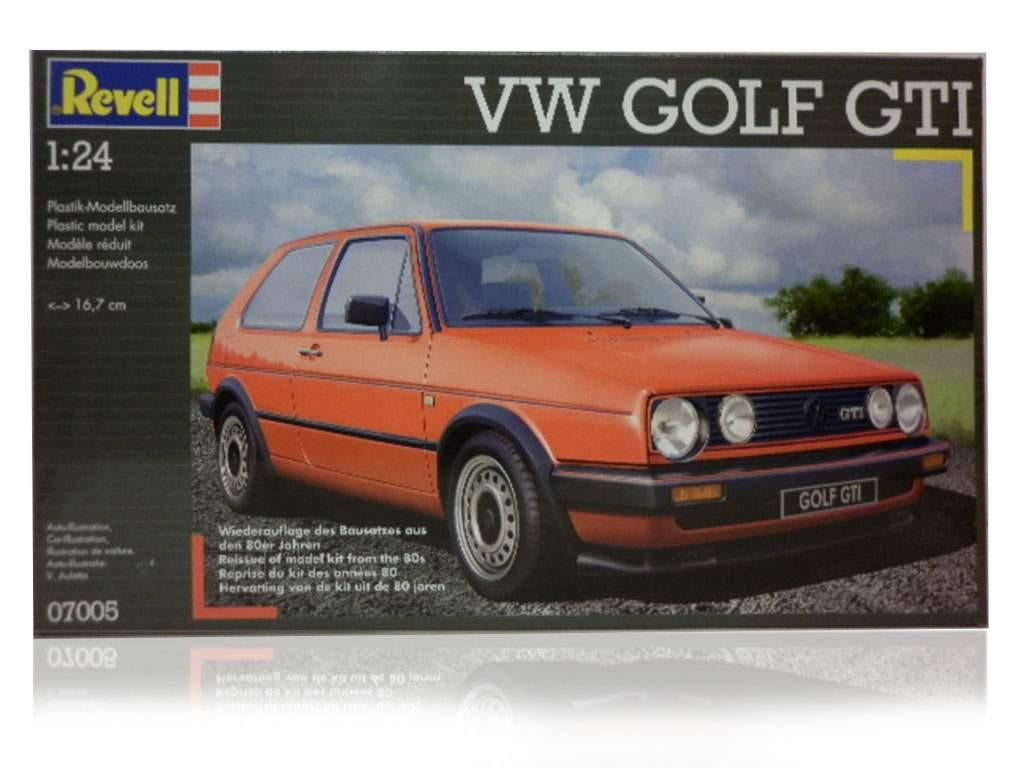 revell golf GTI bouwpakket