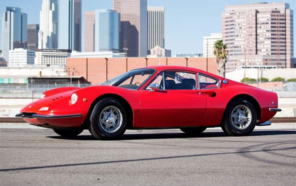 Ferrari Dino 206 GT uit 1969
