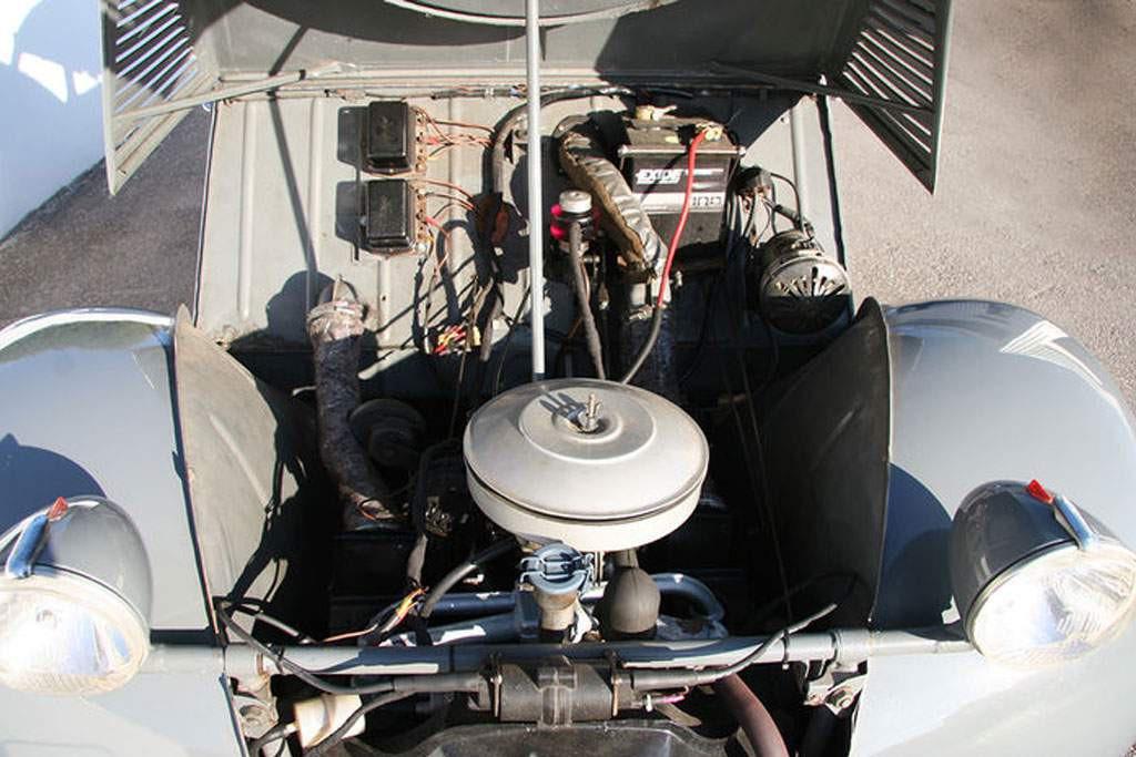2CV sahara motor voor