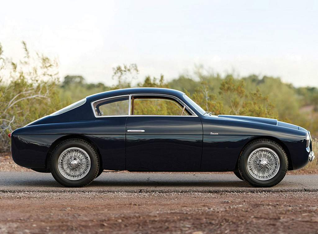 alfa romeo 1900c ss berlinetta by zagato profile