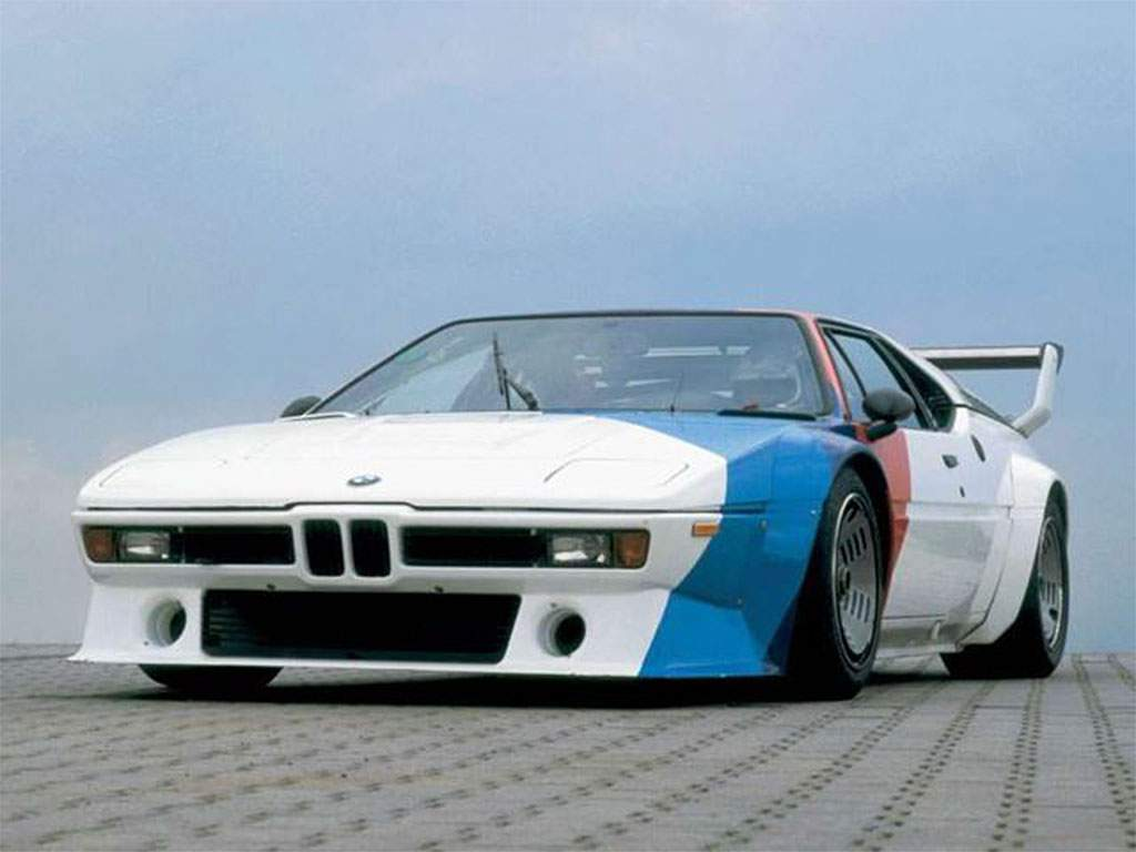 BMW M1 race car