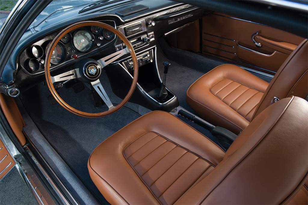 bmw 3000 frua fastback interieur
