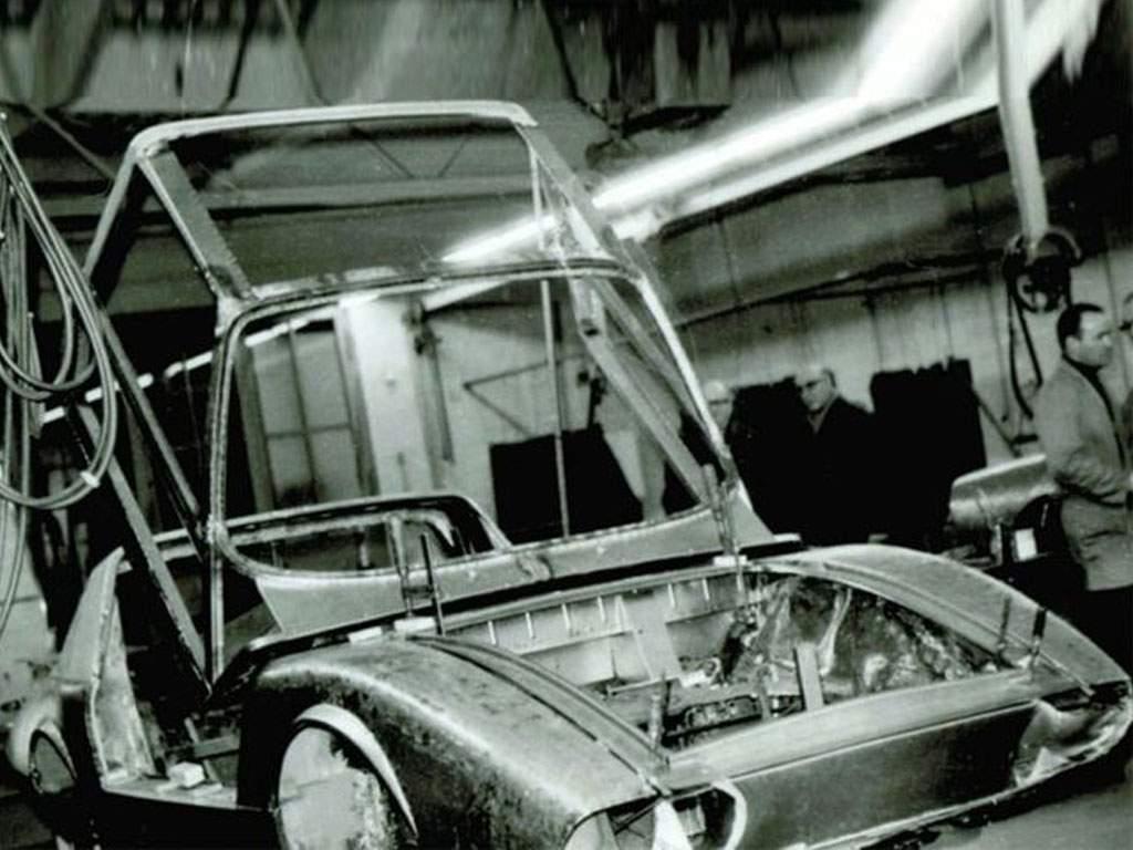 bouw van de porsche 911 HLS