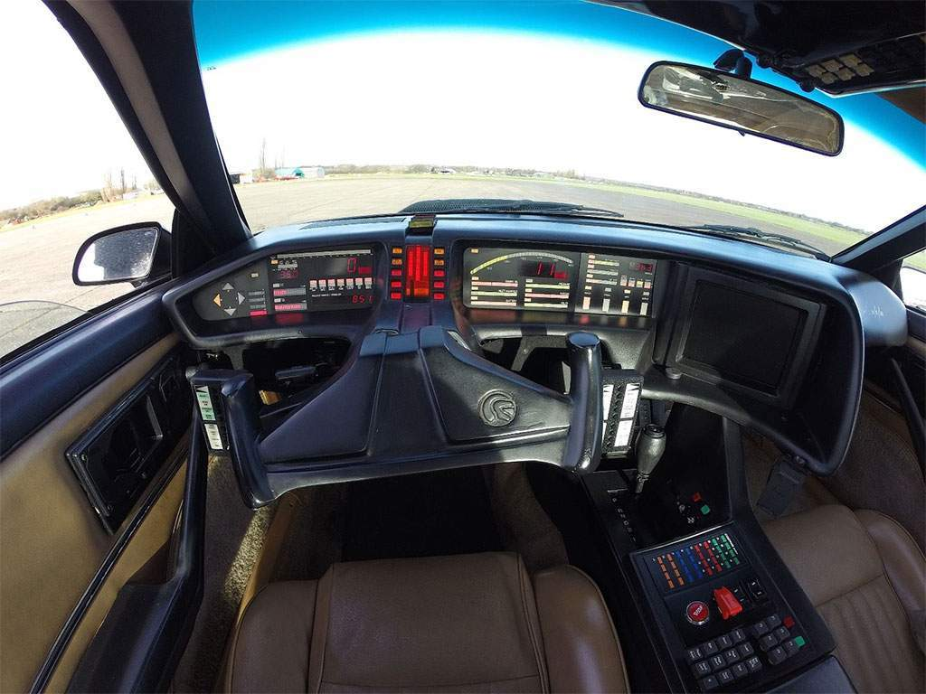knight rider kitt interieur