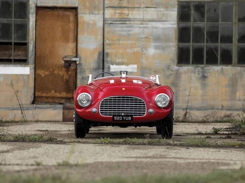 voorzijde Ferrari 166