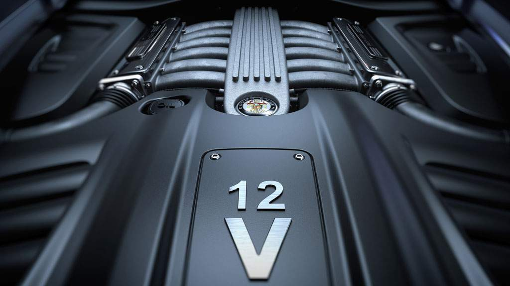 V12 engine in the black cuillin by eadon green