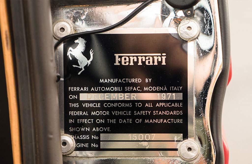Ferrari 365 GTS / 4 Daytona Spider