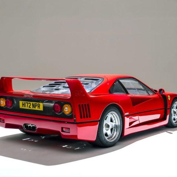 Ferrari F40 achterzijde